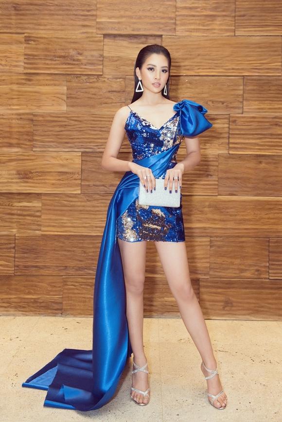 Hoa hậu Tiểu Vy đẹp như nữ thần, hào hứng khi làm giám khảo cuộc thi nhan sắc quốc tế-1