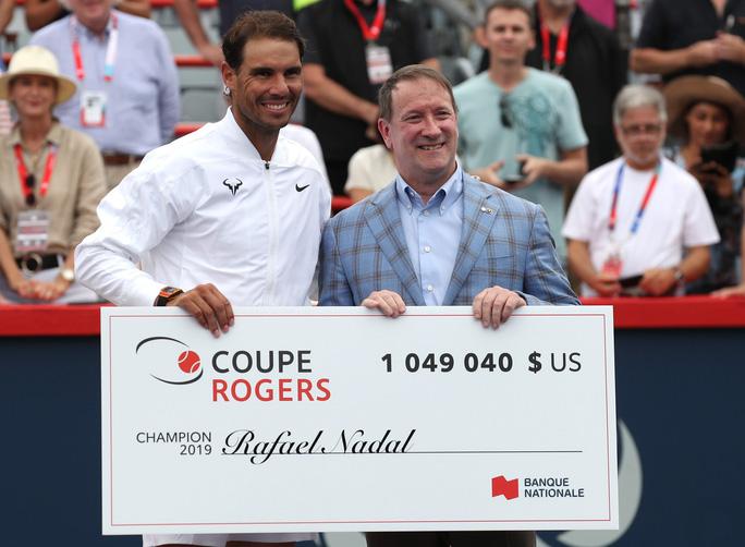 Vô địch Rogers Cup 2019, Nadal giành danh hiệu thứ 35 ATP Masters-4