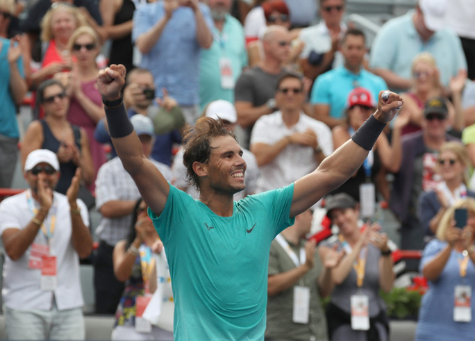 Vô địch Rogers Cup 2019, Nadal giành danh hiệu thứ 35 ATP Masters-5