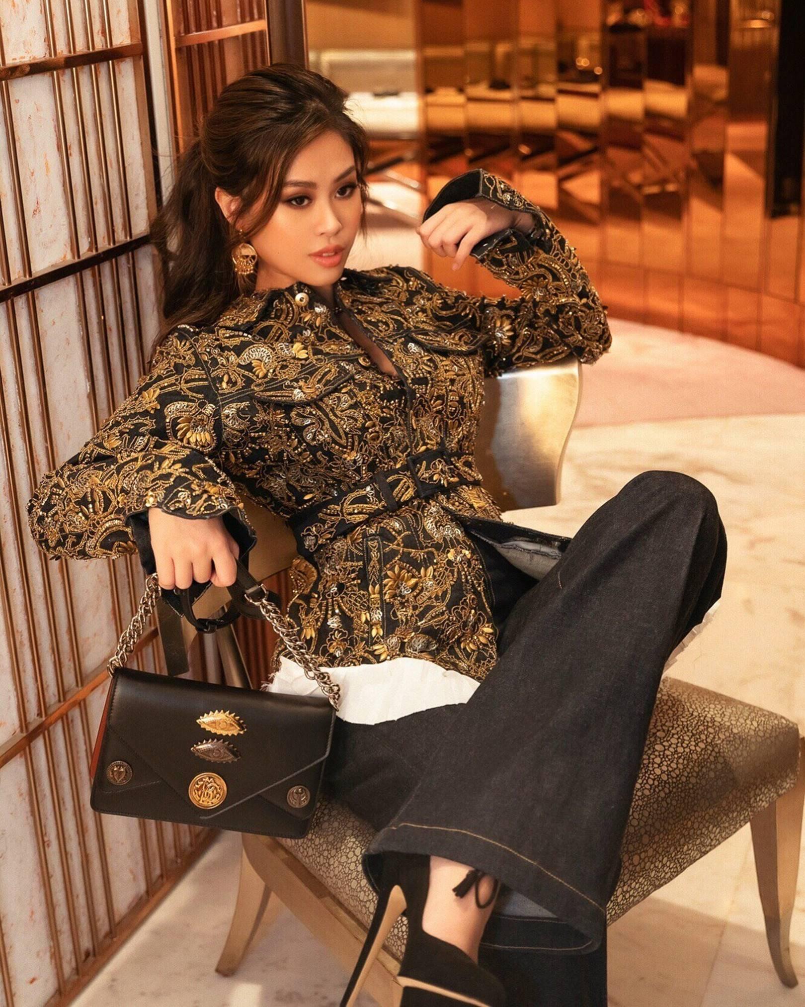 3 ái nữ cành vàng lá ngọc nhà đại gia Việt: Thay đồ hiệu như thay áo, xách túi hiệu như xách giỏ đi chợ mỗi ngày-14