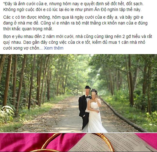 Chuyện thật như đùa: Đúng ngày cưới cô dâu ôm cả thùng tiền mừng cùng vàng và chú rể trả thẳng bố mẹ chồng-1