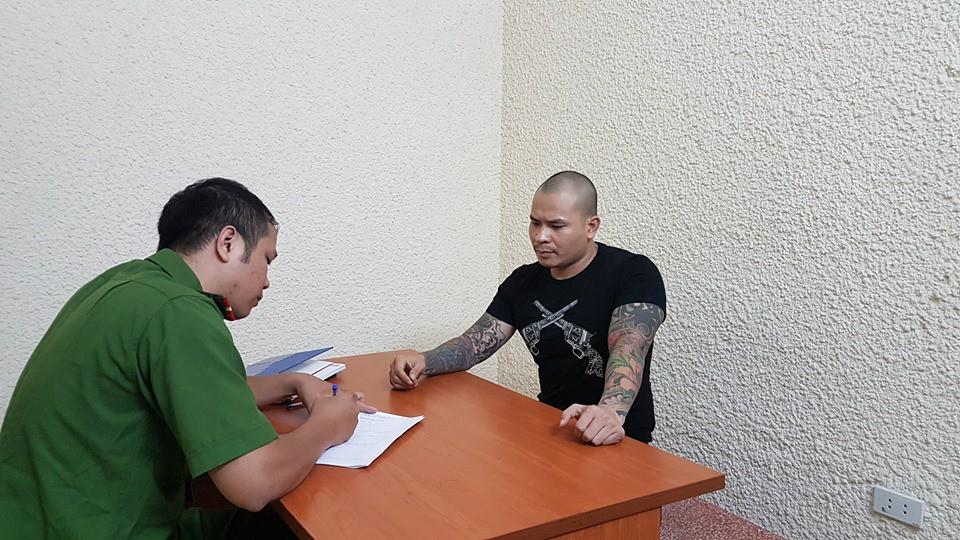 Sau Khá Bảnh đến lượt đàn anh Quang Rambo bị bắt giữ vì cầm đầu nhóm đòi nợ thuê-2