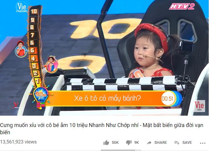 Bé 5 tuổi 3 lần vô địch Nhanh như chớp nhí: Chị Ba bất biến là ai mà khiến hàng loạt sao Việt phát cuồng?-2