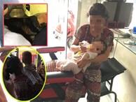 Hai bà cháu mắc kẹt trong thang máy, bé 8 tháng tuổi khóc thảm thiết