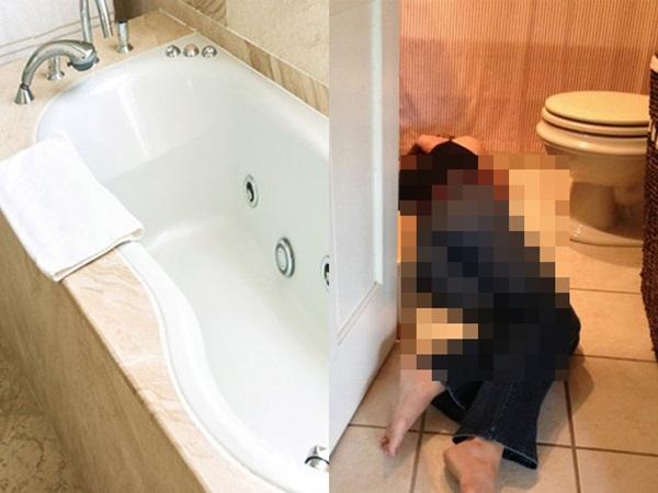 Thai phụ tử vong trong nhà tắm vì điện giật, chồng chạy vào cứu cũng qua đời thương tâm-1