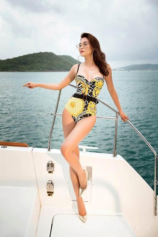 Á hậu Mâu Thuỷ đốt mắt fans với loạt ảnh khoe đường cong hoàn hảo cùng bikini-4