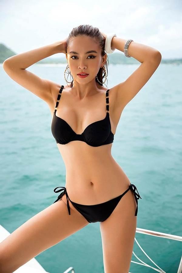 Á hậu Mâu Thuỷ đốt mắt fans với loạt ảnh khoe đường cong hoàn hảo cùng bikini-5