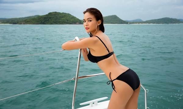 Á hậu Mâu Thuỷ đốt mắt fans với loạt ảnh khoe đường cong hoàn hảo cùng bikini-7