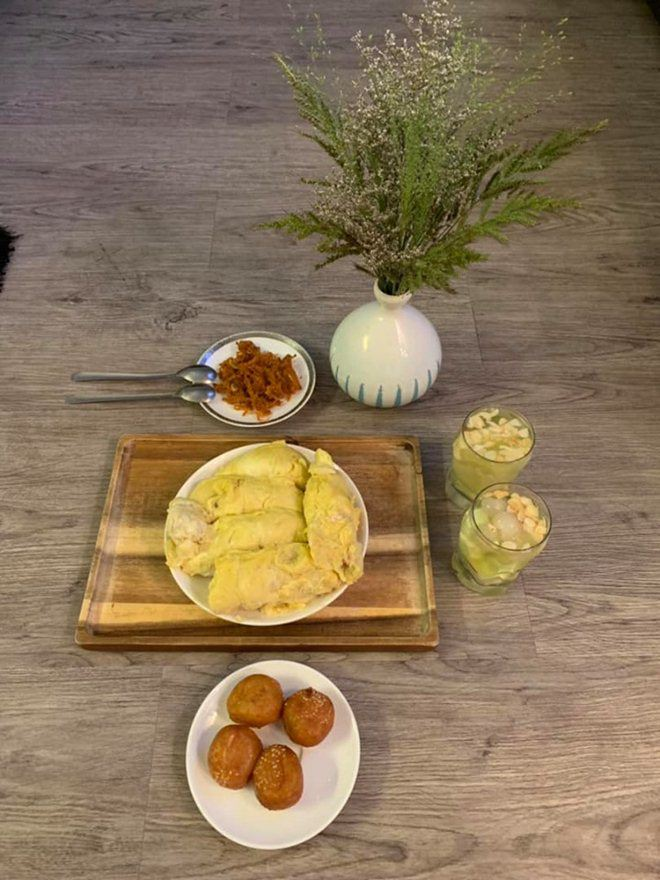 Xoá nghi vấn ghét nhau, Quế Vân mời vợ cũ Việt Anh đến nhà ăn cỗ đẹp như nhà hàng-10