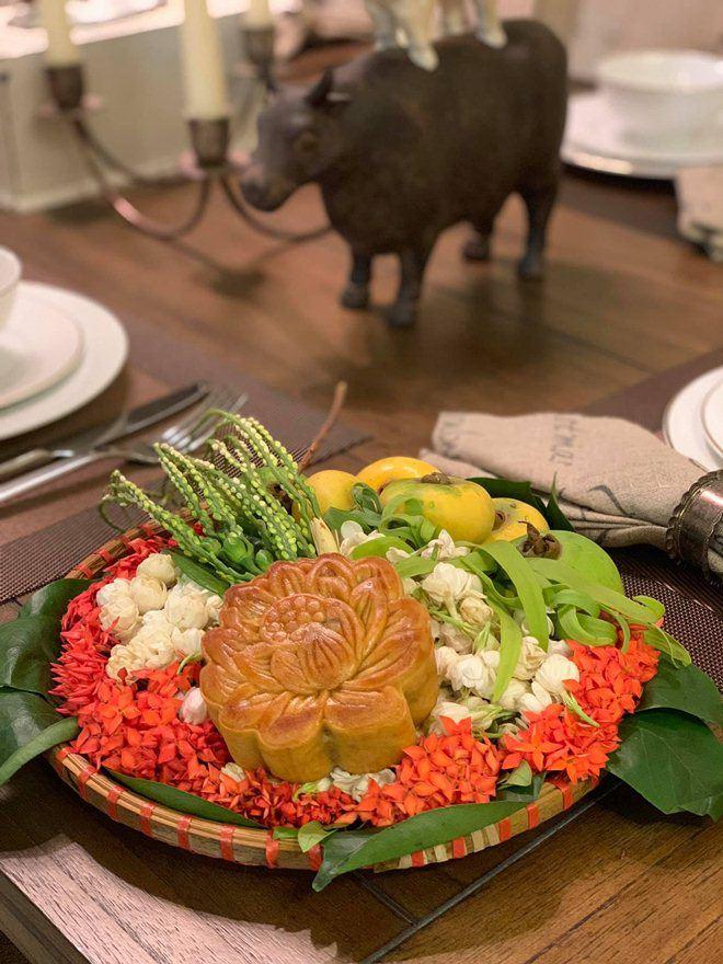 Xoá nghi vấn ghét nhau, Quế Vân mời vợ cũ Việt Anh đến nhà ăn cỗ đẹp như nhà hàng-12