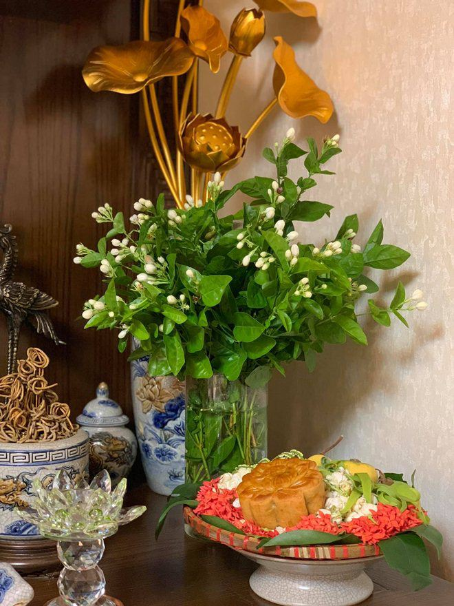 Xoá nghi vấn ghét nhau, Quế Vân mời vợ cũ Việt Anh đến nhà ăn cỗ đẹp như nhà hàng-13