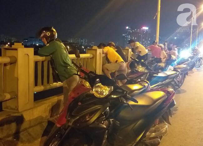 Cô gái trẻ nghi đang mang thai nhảy cầu Vĩnh Tuy tự tử trong đêm-5