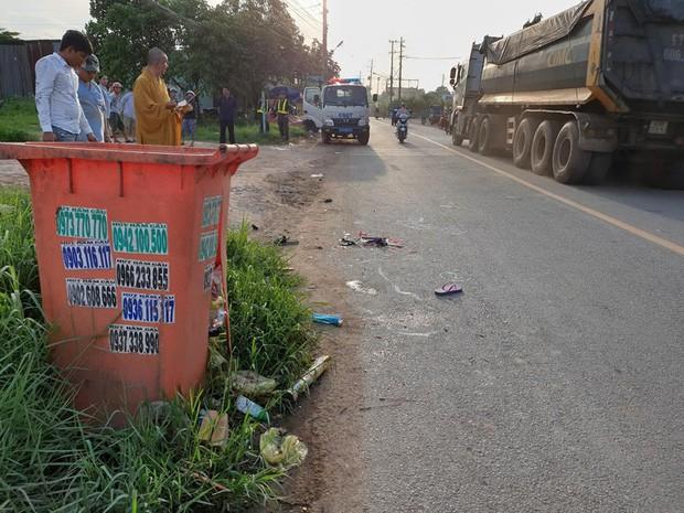 Bé gái ở Bình Dương chết thảm vì thùng rác bên đường-1