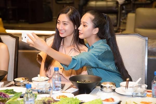Hoa hậu Tiểu Vy và dàn người đẹp để mặt mộc dự sinh nhật Hoa hậu Lương Thuỳ Linh-6