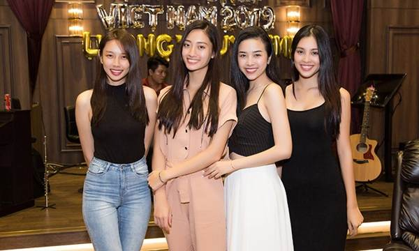 Hoa hậu Tiểu Vy và dàn người đẹp để mặt mộc dự sinh nhật Hoa hậu Lương Thuỳ Linh-8