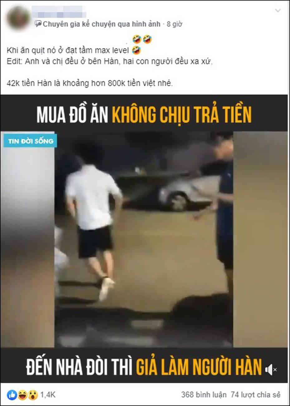 Clip: Người đàn ông Việt giả là người Hàn Quốc khi nữ chủ tiệm bánh tìm đến nhà, màn đòi nợ đỉnh cao của cô gái khiến tất cả thán phục-1