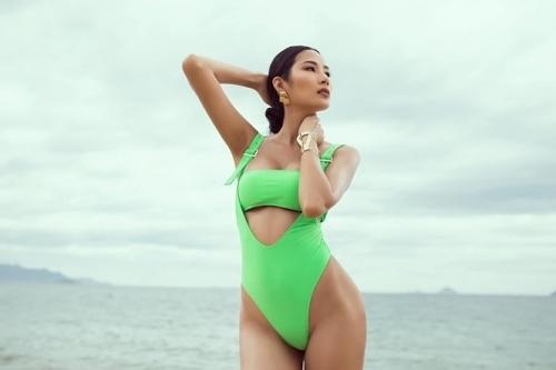 Phạm Hương cùng dàn Á hậu Hoàn Vũ Việt Nam đua nhau khoe ảnh bikini nóng bỏng-11