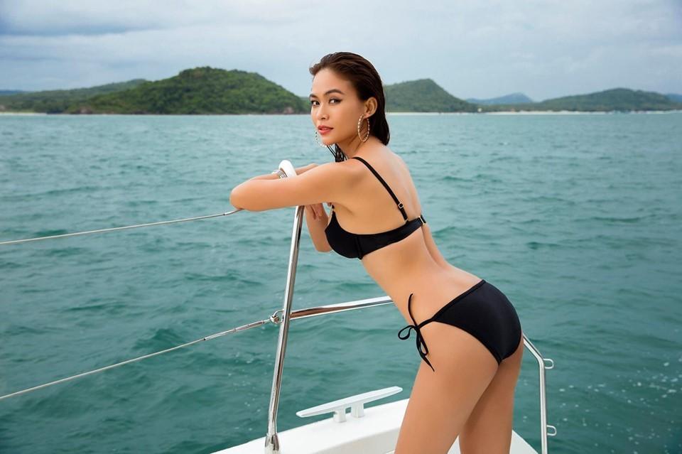 Phạm Hương cùng dàn Á hậu Hoàn Vũ Việt Nam đua nhau khoe ảnh bikini nóng bỏng-7