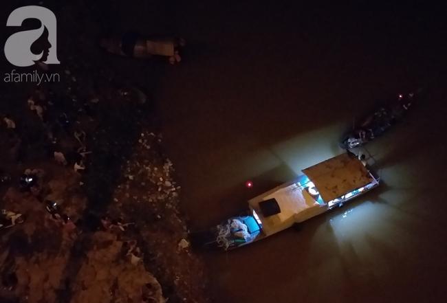 Tìm thấy thi thể cô gái trẻ nhảy cầu Vĩnh Tuy tự tử trong đêm-1