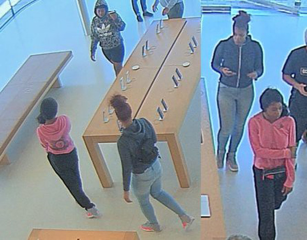Mỹ: 3 nữ tướng xông vào nuốt trọn số iPhone trị giá hàng trăm triệu rồi tẩu thoát như phim-1