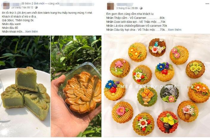 Thị trường bánh Trung thu homemade 2019: Mẫu mã đẹp, giá cả không quá cao nên rất hút người mua-6