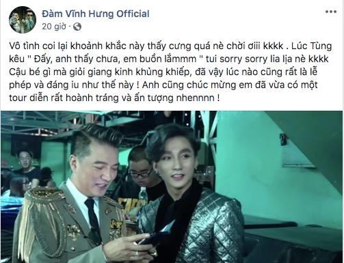 Đàm Vĩnh Hưng khen Sơn Tùng: Cậu bé gì mà giỏi giang kinh khủng khiếp, đã vậy lúc nào cũng lễ phép-2