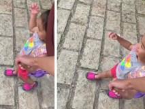 Tăng Thanh Hà dắt con gái đi học, vô tình làm lộ mặt gương mặt cô bé vì sự cố bất ngờ