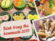 Thị trường bánh Trung thu homemade 2019: Mẫu mã đẹp, giá cả không quá cao nên rất 'hút' người mua