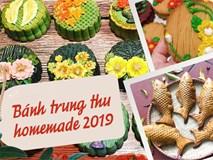 Thị trường bánh Trung thu homemade 2019: Mẫu mã đẹp, giá cả không quá cao nên rất