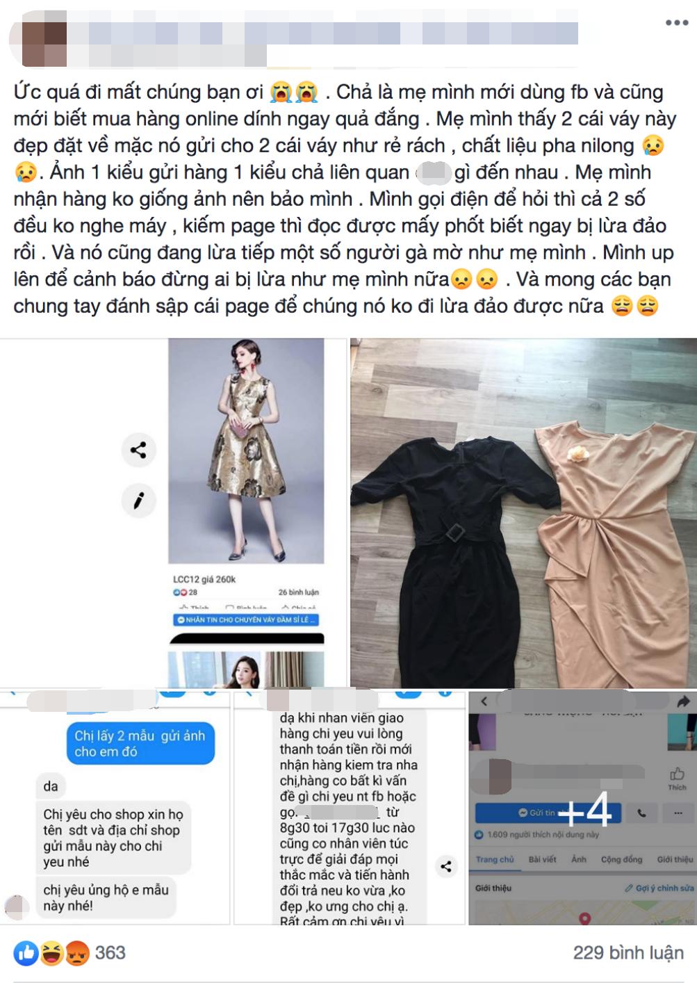 Mẹ mới dùng Facebook đã bị lừa khi mua hàng online, cô nàng ấm ức kể với dân mạng liền nhận về phản ứng bất ngờ-1