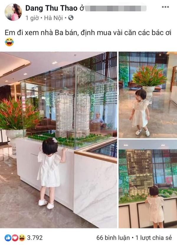 Lâu lâu mới lên sóng, con gái Hoa hậu Đặng Thu Thảo khiến dân mạng được phen ngỡ ngàng vì lớn nhanh như thổi-1