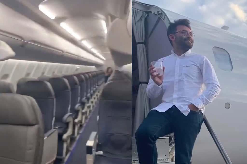 Máy bay 78 chỗ chở duy nhất 1 hành khách: Tiết lộ sự thật khiến mọi người ngã ngửa-1