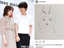 Bức ảnh tự hoạ 5 tháng trước của Goo Hye Sun tiết lộ cô bị chồng trẻ Ahn Jae Hyun xỏ mũi, cắm sừng?