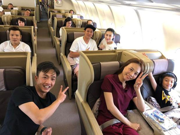 Chuyến du lịch đầu tiên của vợ chồng Cường Đô La - Đàm Thu Trang sau đám cưới, Subeo vô cùng hào hứng trước khi quay lại trường học!-2