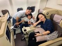 Chuyến du lịch đầu tiên của vợ chồng Cường Đô La - Đàm Thu Trang sau đám cưới, Subeo vô cùng hào hứng trước khi quay lại trường học!
