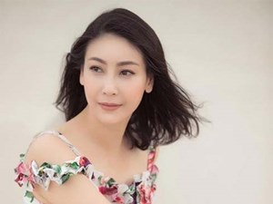 Nhan sắc 'chim sa cá lặn' của Hoa hậu Hà Kiều Anh ở tuổi 43