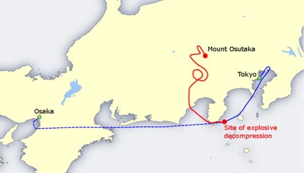 Vụ tai nạn máy bay thảm khốc khiến hơn 500 người tử nạn ở Nhật Bản và cái cúi đầu xin lỗi trong nước mắt của vợ phi công trưởng đã thiệt mạng-2