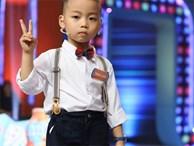 """'Nhanh như chớp nhí': Thánh nói 5 tuổi khiến dân mạng phát cuồng, Trấn Thành cũng phải """"tụt đường, hạ canxi' vì nói không lại"""