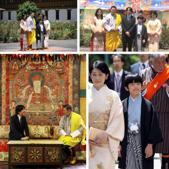 Hoàng hậu Bhutan đọ sắc Thái tử phi Nhật Bản nhưng 2 Hoàng tử nhỏ mới là tâm điểm chú ý, khiến người dùng mạng rần rần-1