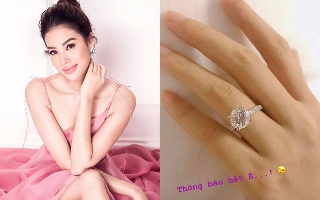 Đính hôn đã 6 tháng, Phạm Hương vẫn chỉ cười cho qua khi có người hỏi chuyện lấy chồng-3
