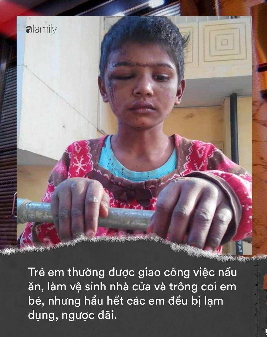 Khi trẻ em làm giúp việc cho nhà giàu: Bị ngược đãi tàn nhẫn, bữa ăn chan nước mắt và những cái chết đầy tức tưởi-2