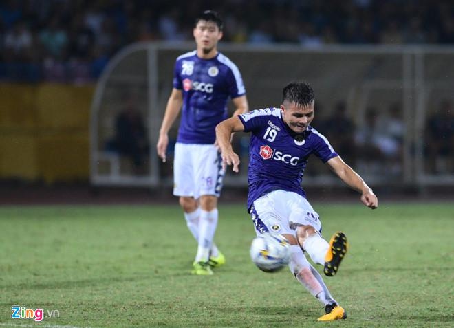 Quang Hải lập cú đúp, CLB Hà Nội thắng Altyn Asyr 3-2 tại AFC Cup-1