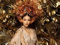 Cận cảnh bộ quốc phục huyền thoại giúp Hoa hậu Phương Khánh làm nên kỳ tích cho nhan sắc Việt