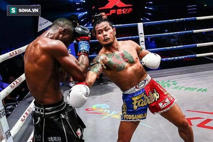 """Đệ nhất Thái Cực đấu võ sĩ Muay Thái số 1 thế giới, là hung thần"""" của võ lâm Trung Quốc-4"""