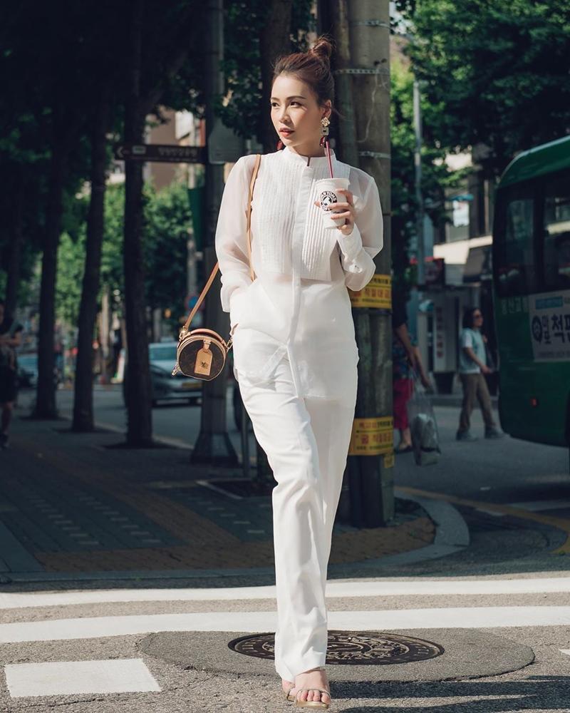Linh Ka khoe street style như không mặc quần - Nhật Lê lăng-xê quần shorts 5 phân-7