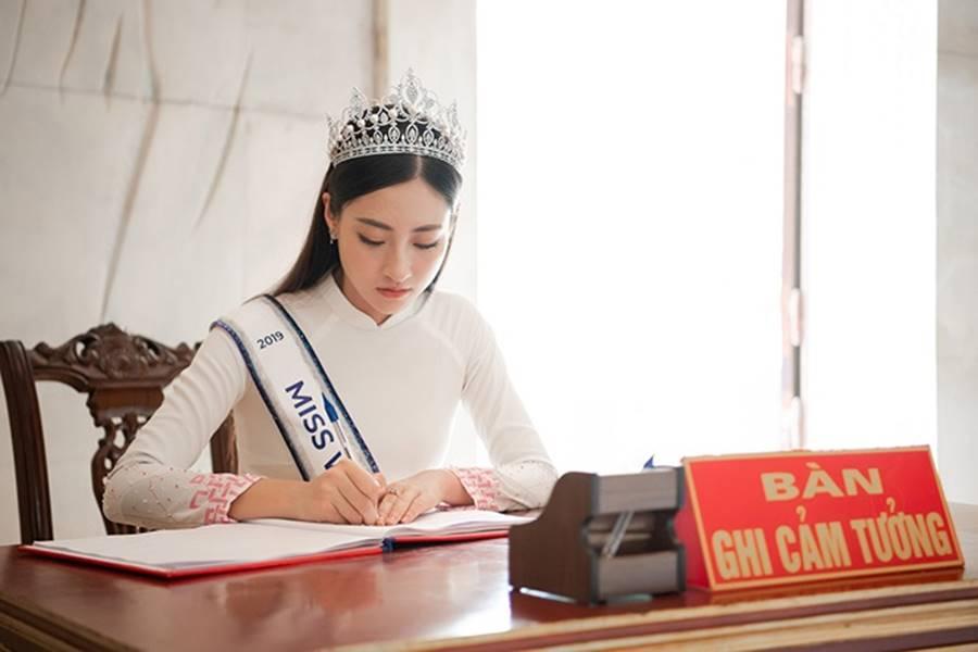 Hoa hậu Lương Thuỳ Linh thả dáng giữa chốn bồng lai tiên cảnh của Cao Bằng-4