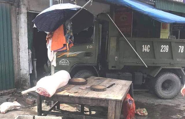 Đứng mua thịt lợn trên vỉa hè, người phụ nữ bị xe tải mất lái đâm tử vong-1