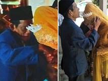 Đám cưới ông cháu gây xôn xao dư luận: Cô dâu 27 tuổi phải lòng ông lão 83, hạ quyết tâm lấy bằng được