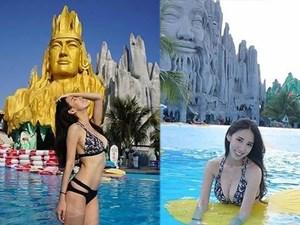 Mỹ nhân Hàn, Nhật mặc gợi cảm nơi công cộng ở Việt Nam, có người bị chê phản cảm