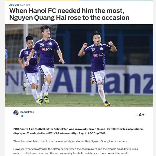 90 phút đẳng cấp ở Cúp châu Á đập tan định kiến về Quang Hải-1